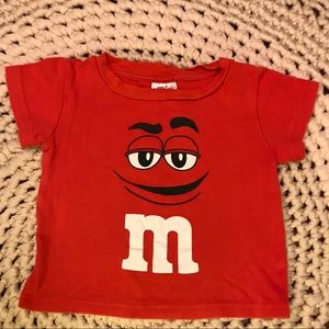 Other - M&M's authentic graphic tee